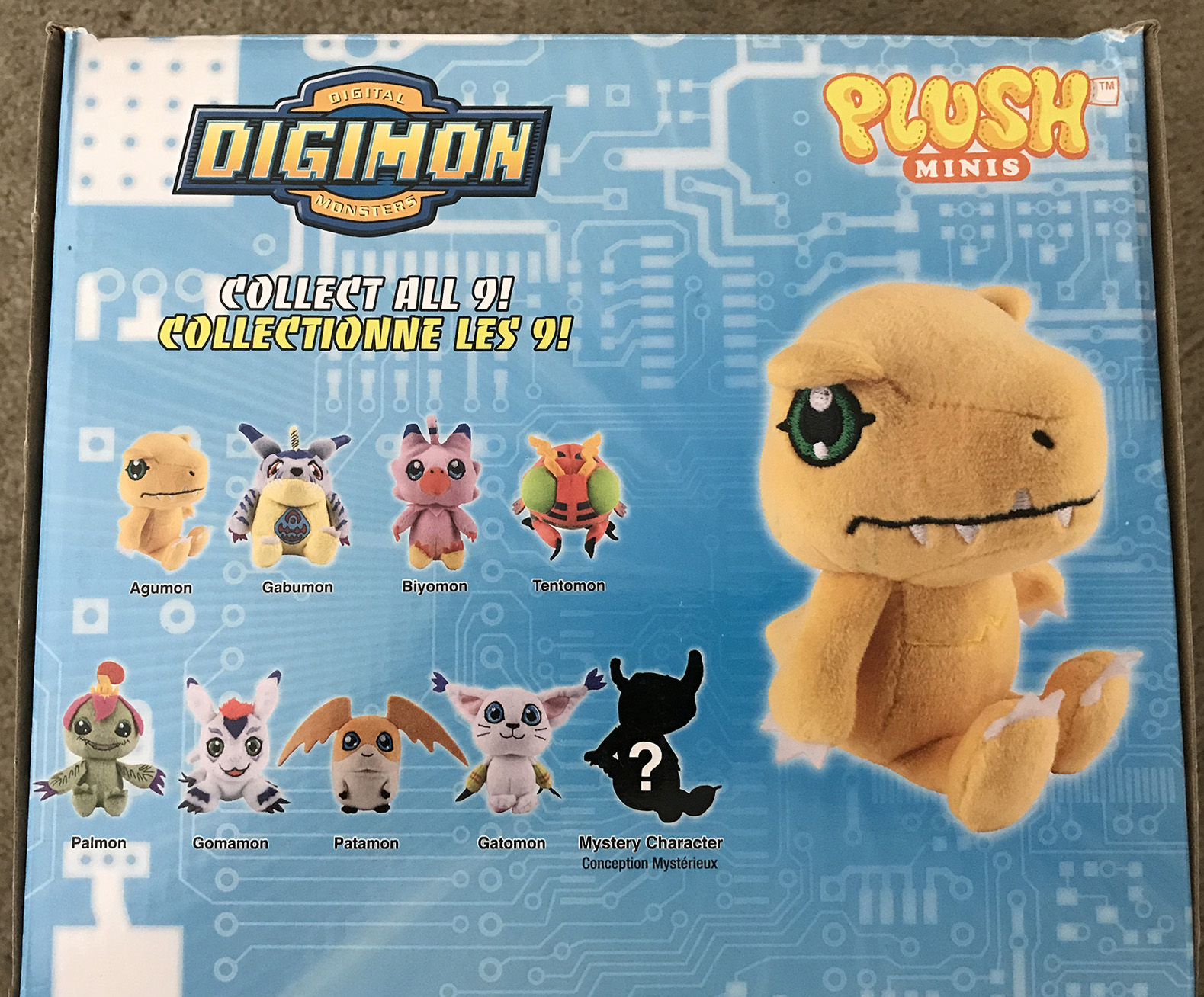 Digimon Plush Minis Review And Images With The Will