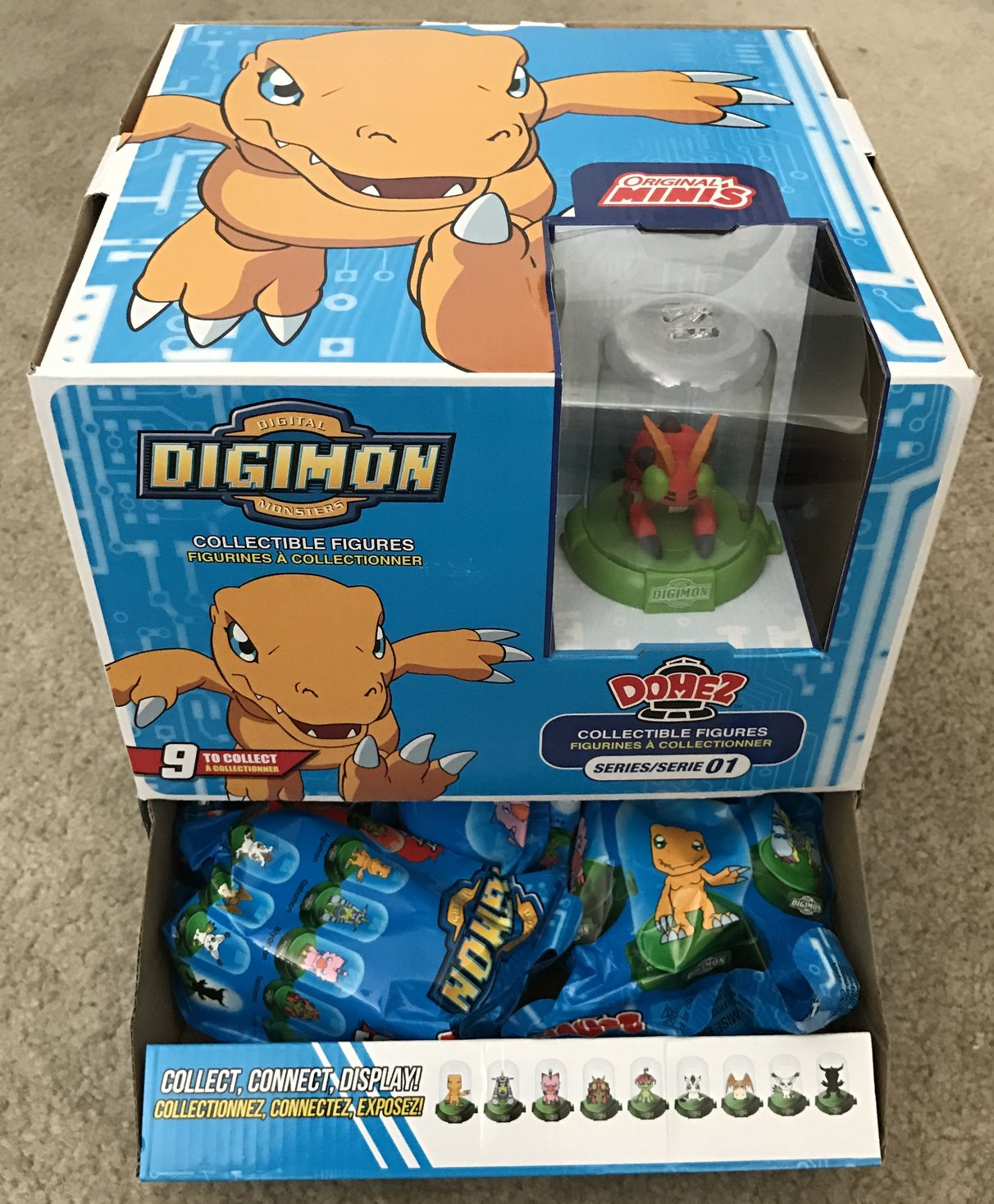 Digimon Domez Series 1 Review And Images